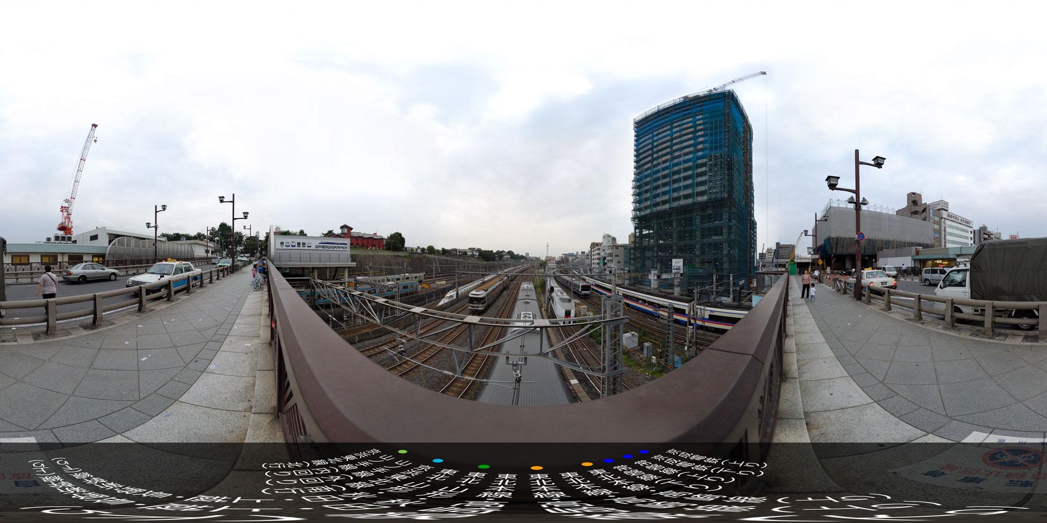 トレイン・ミュージアムとも呼ばれる下御隠殿橋