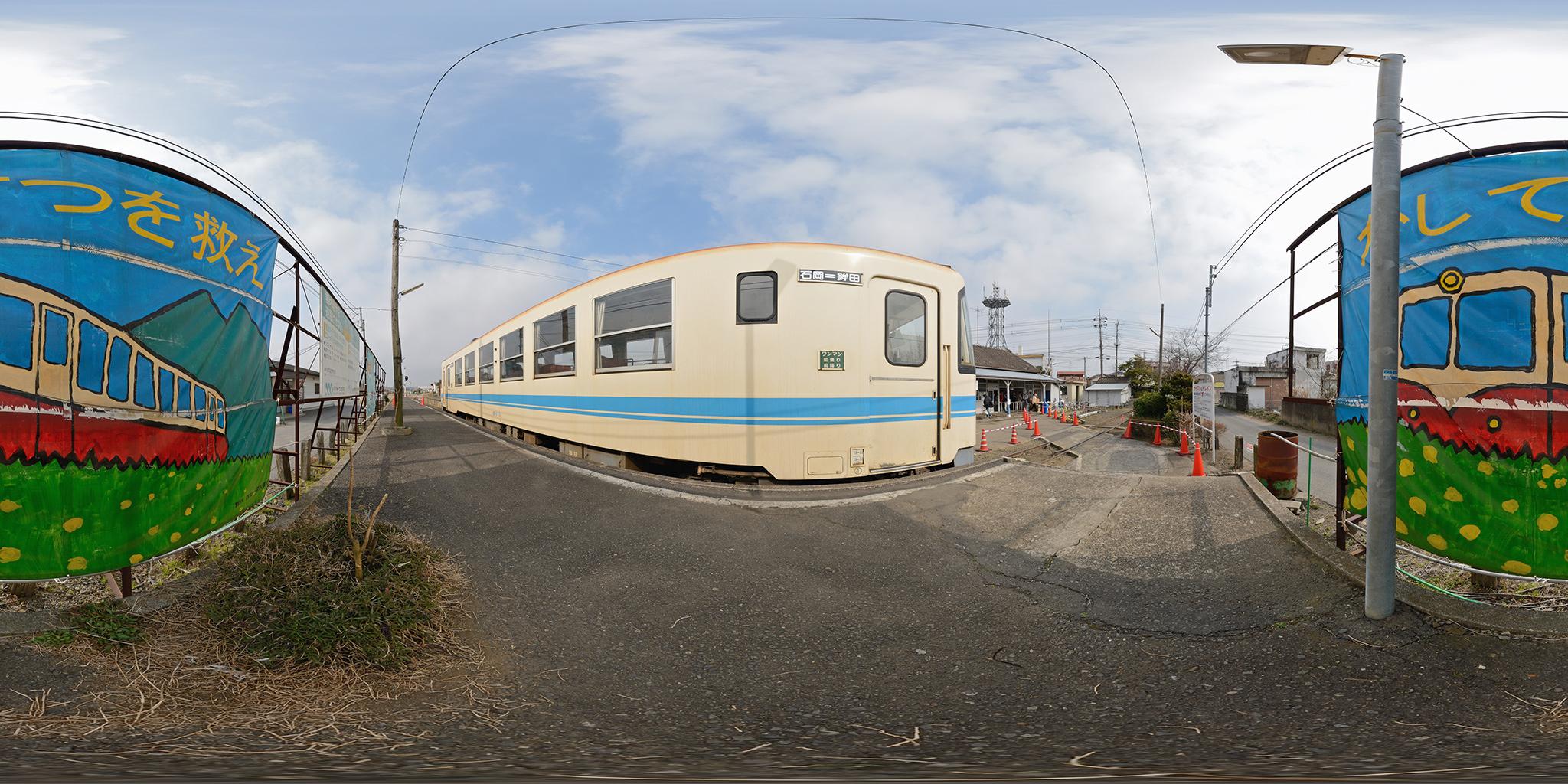 鹿島鉄道の終着、鉾田駅