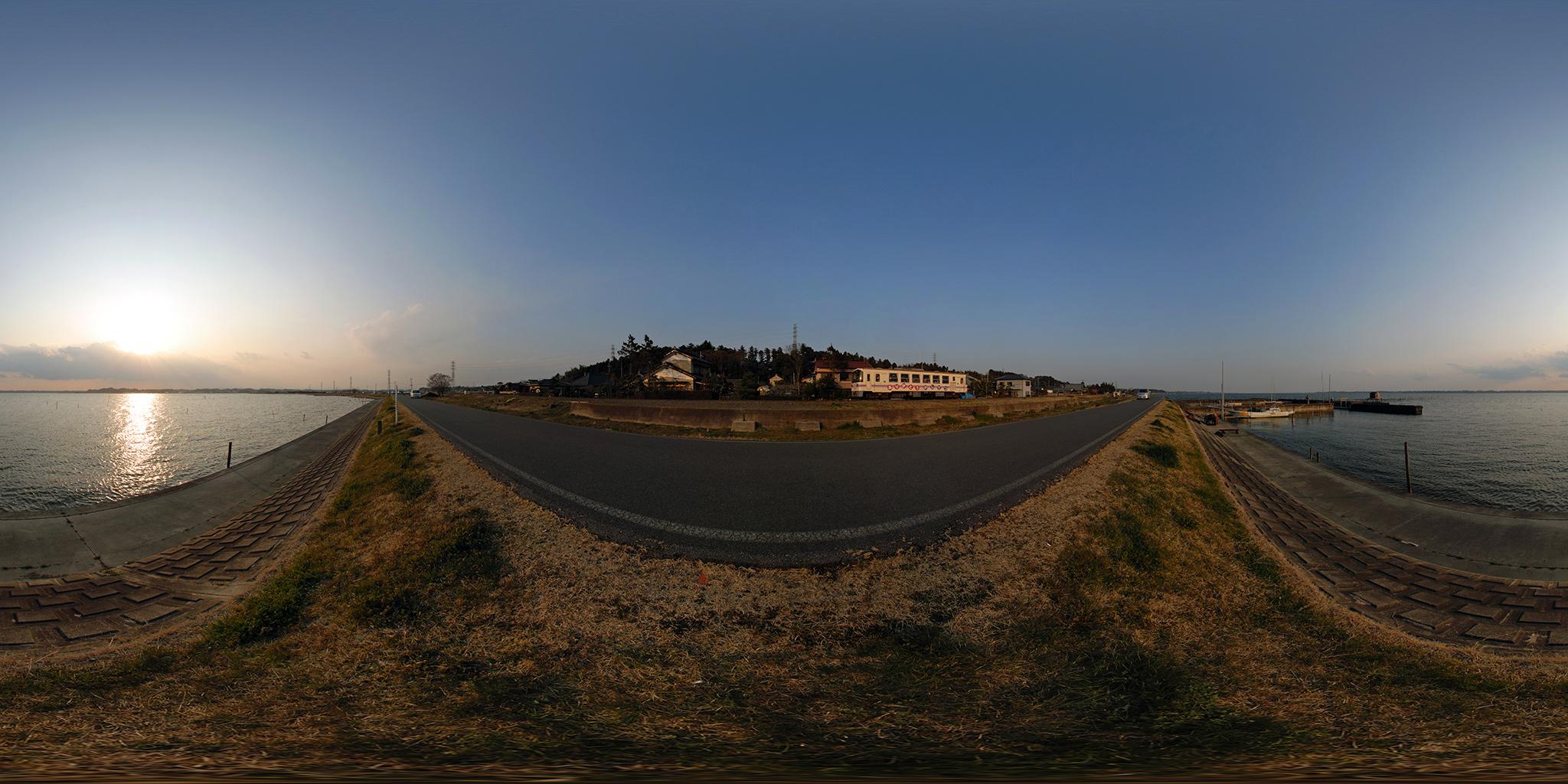 霞ヶ浦湖岸を走っていた鹿島鉄道