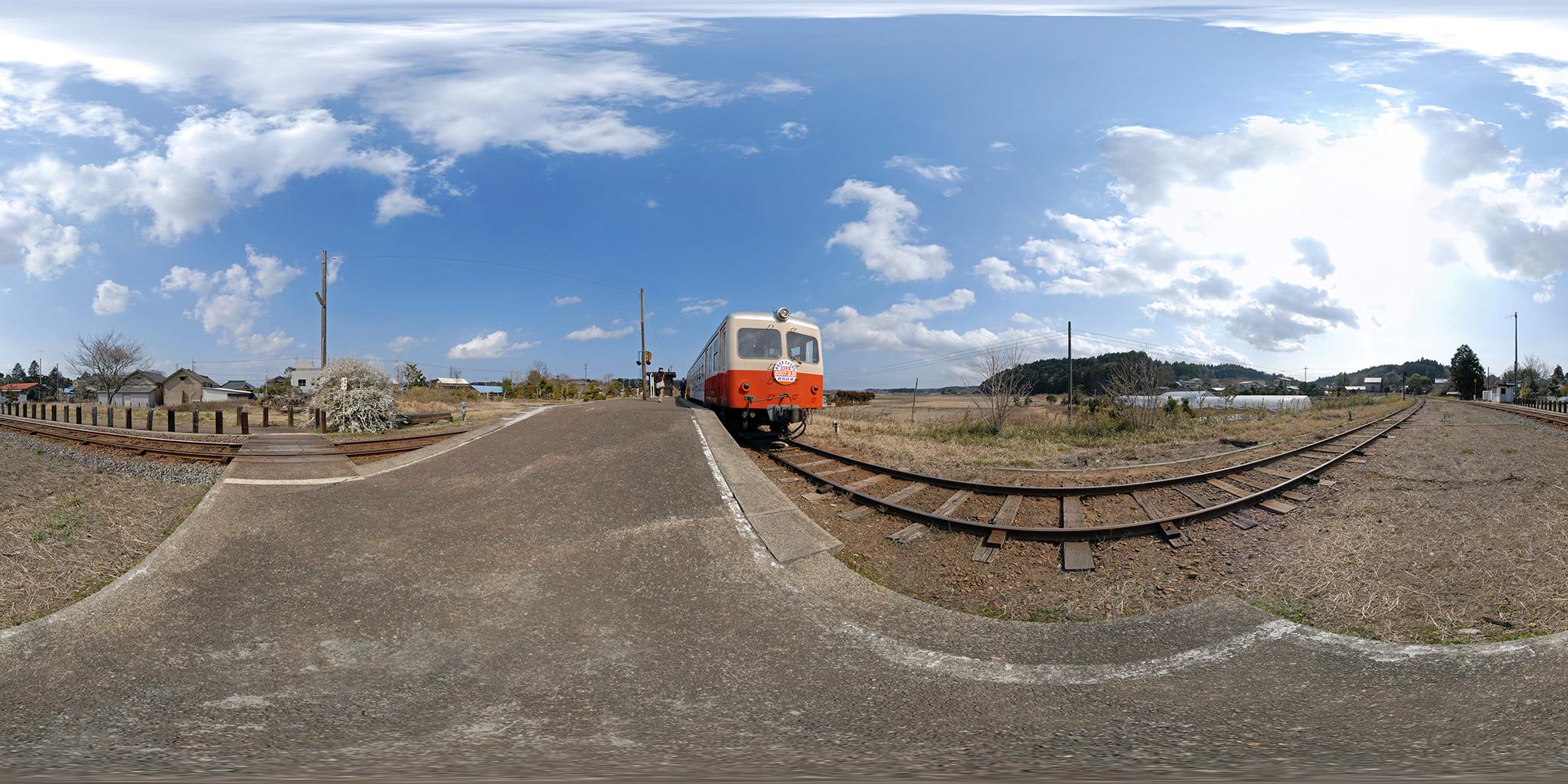 もと夕張鉄道のキハ714