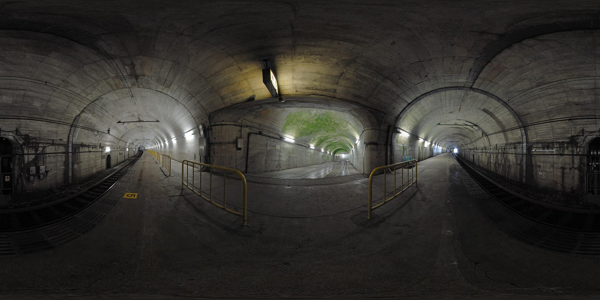 湯檜曽駅下りホーム