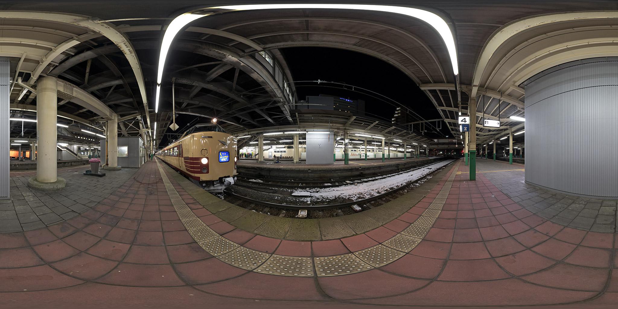 """""""485系K1編成、ムーンライトえちご"""""""