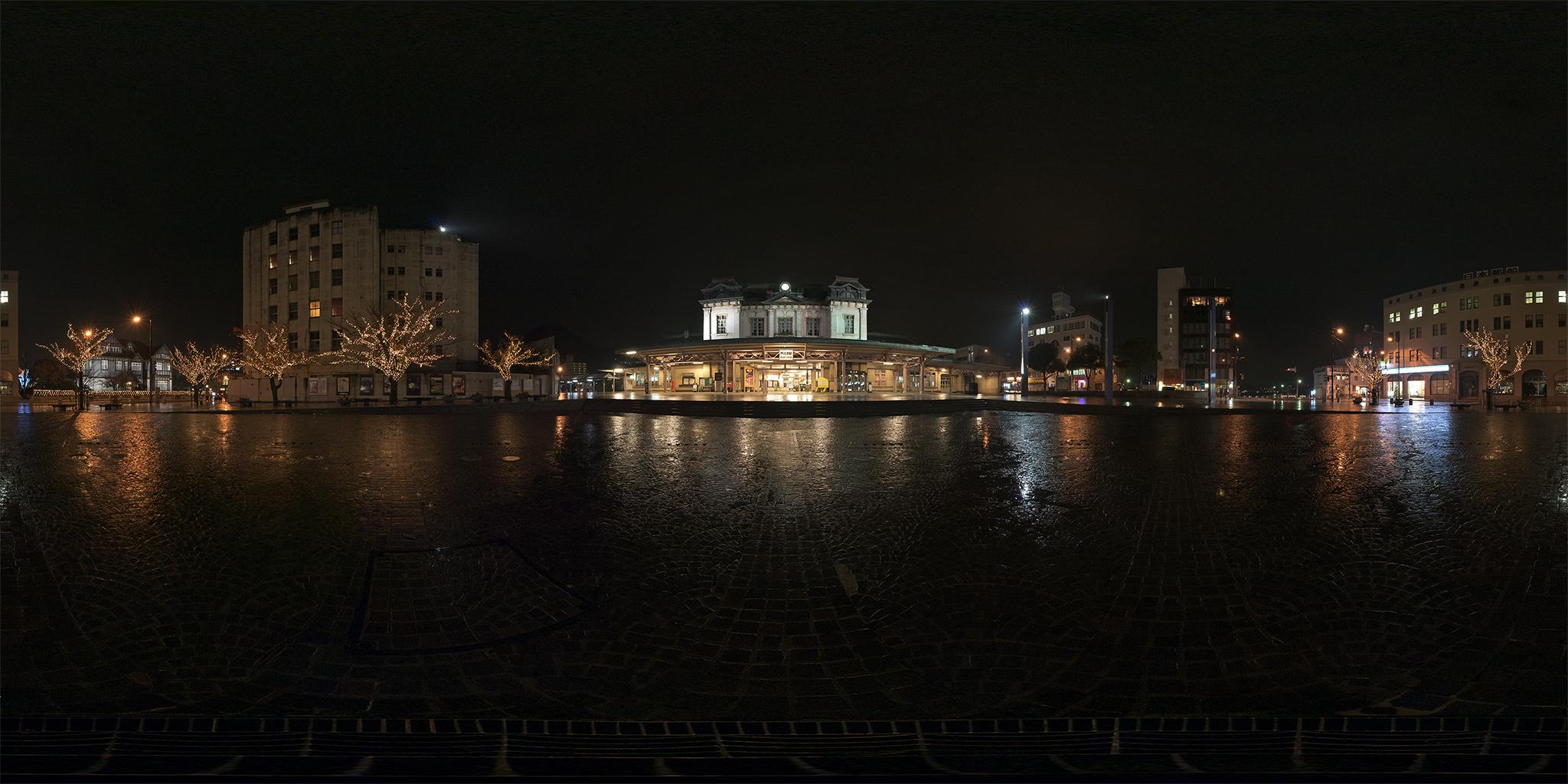 2008年12月の門司港駅