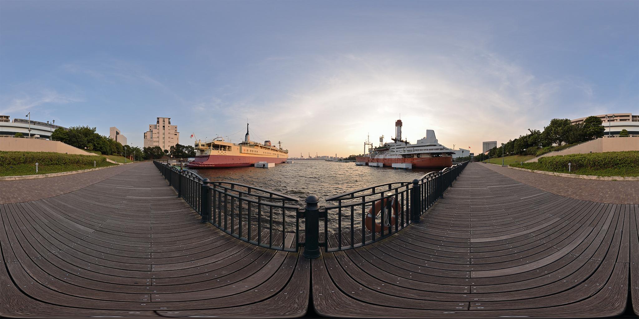 青函連絡船羊蹄丸と南極観測船宗谷