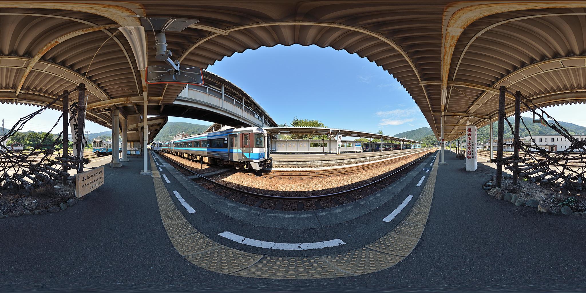 阿波池田駅にて特急剣山