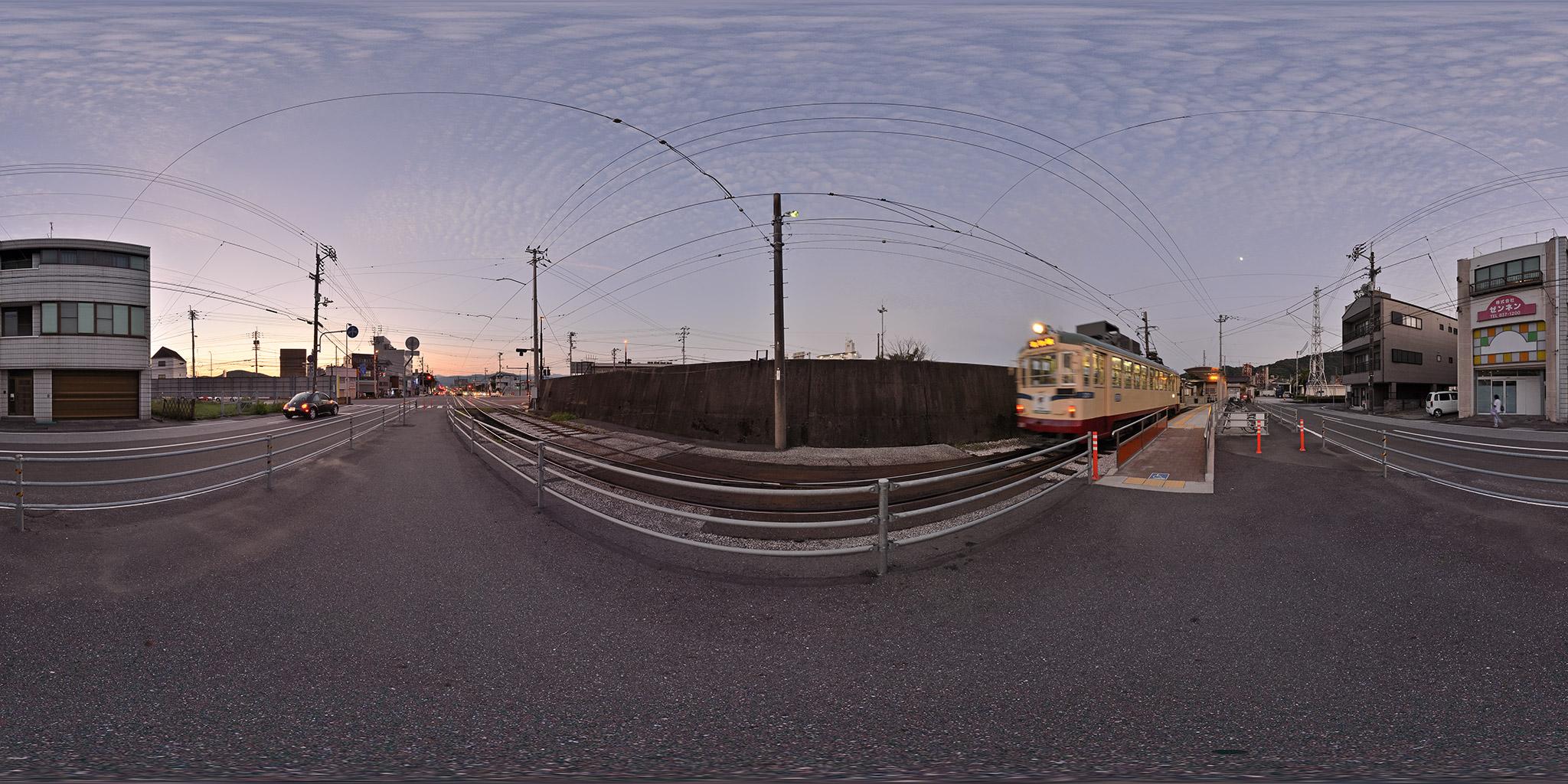 土佐電鉄時代の桟橋線、桟橋五丁目電停