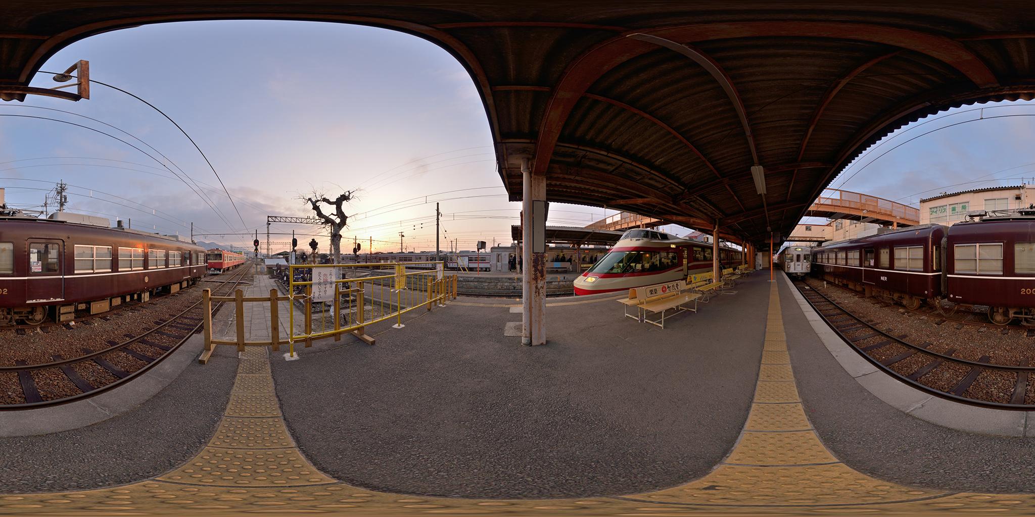 屋代線須坂駅