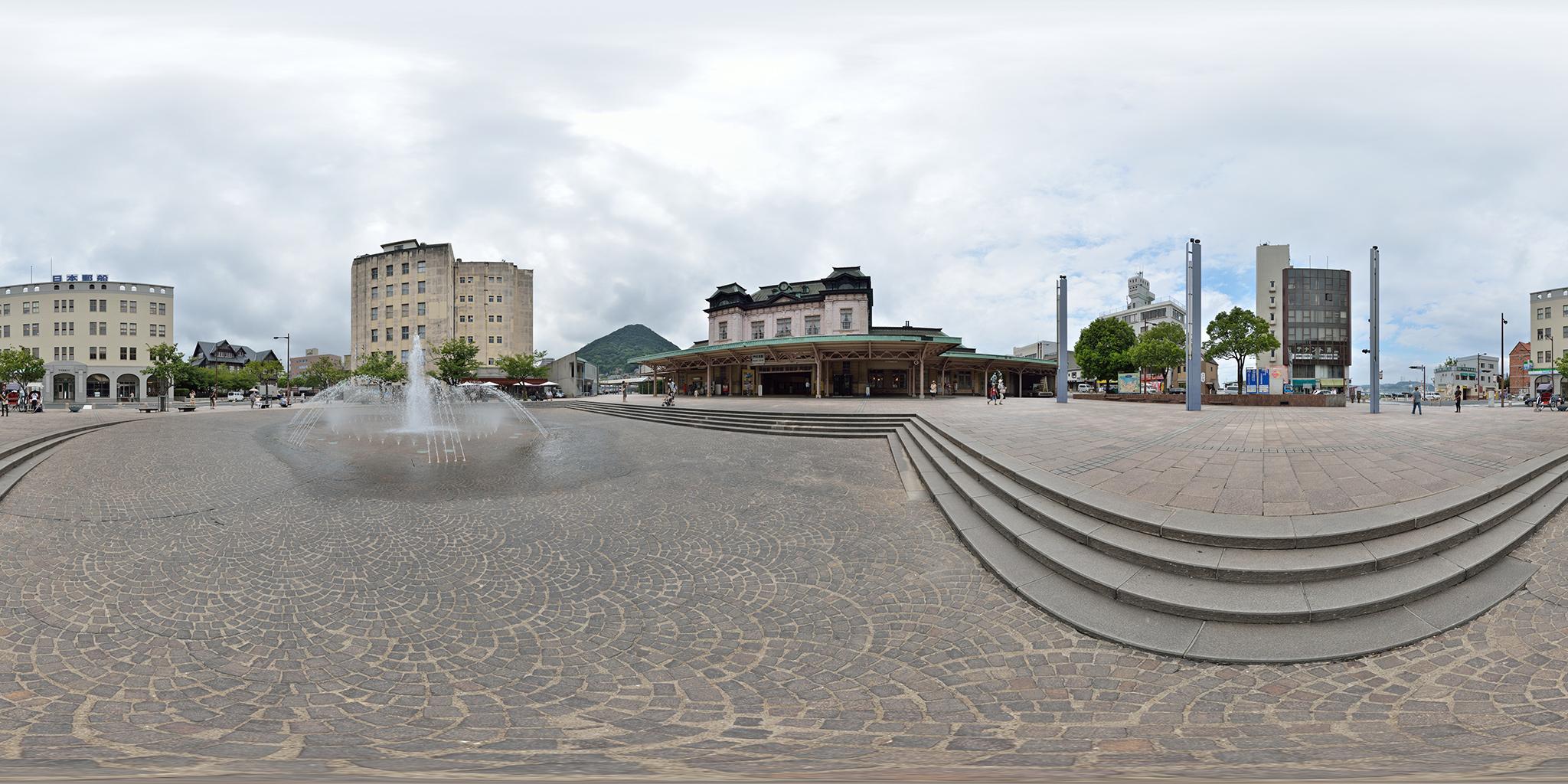 2012年8月の門司港駅