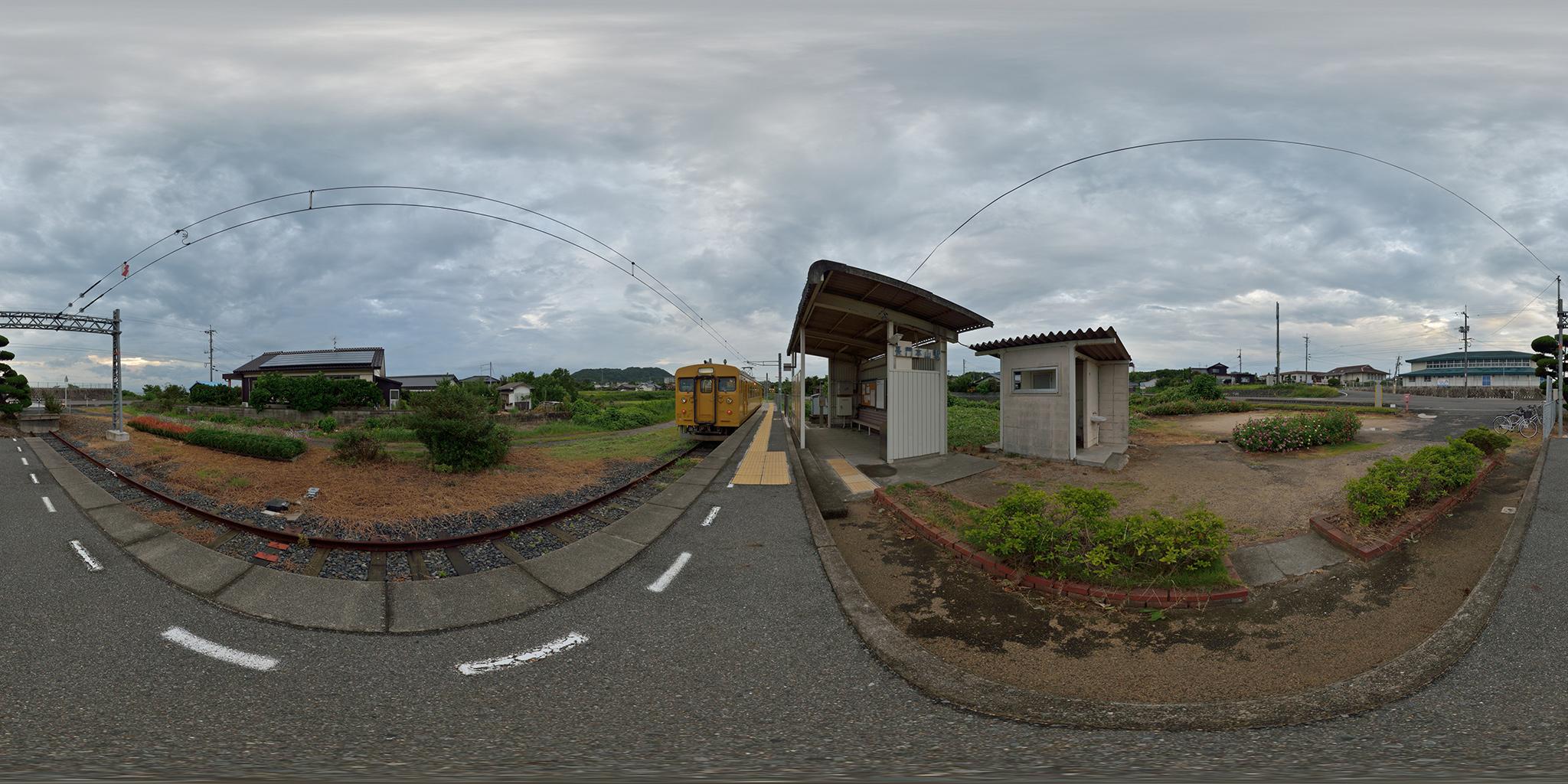 小野田線本山支線の終点、長門本山駅