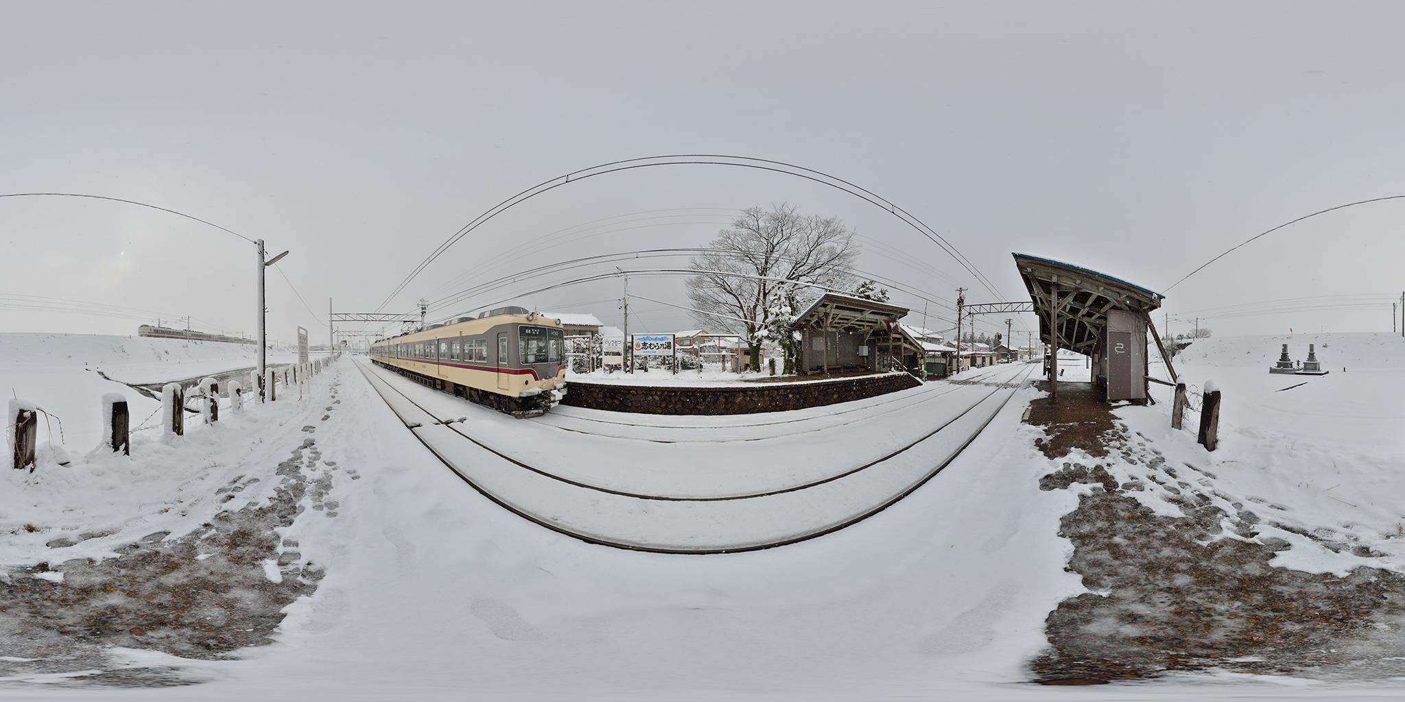 富山地鉄と北陸本線