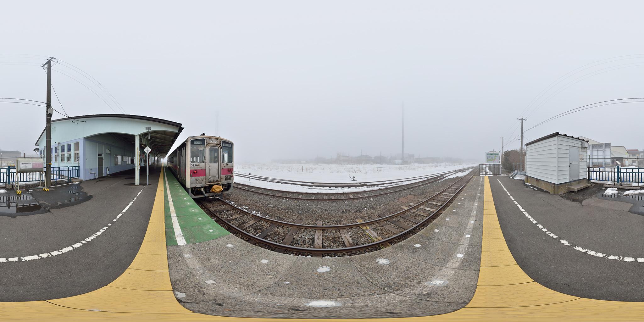 根室本線の終着根室駅