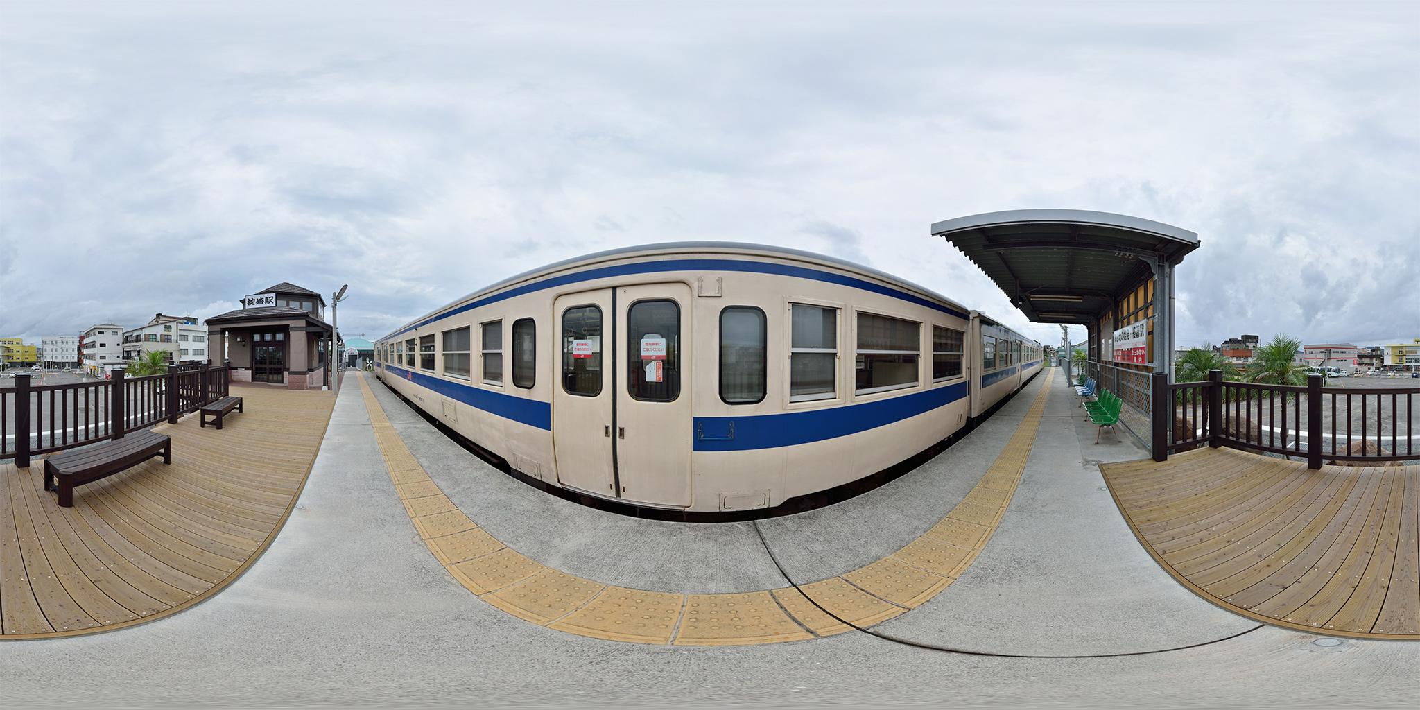 指宿枕崎線の終点、枕崎駅