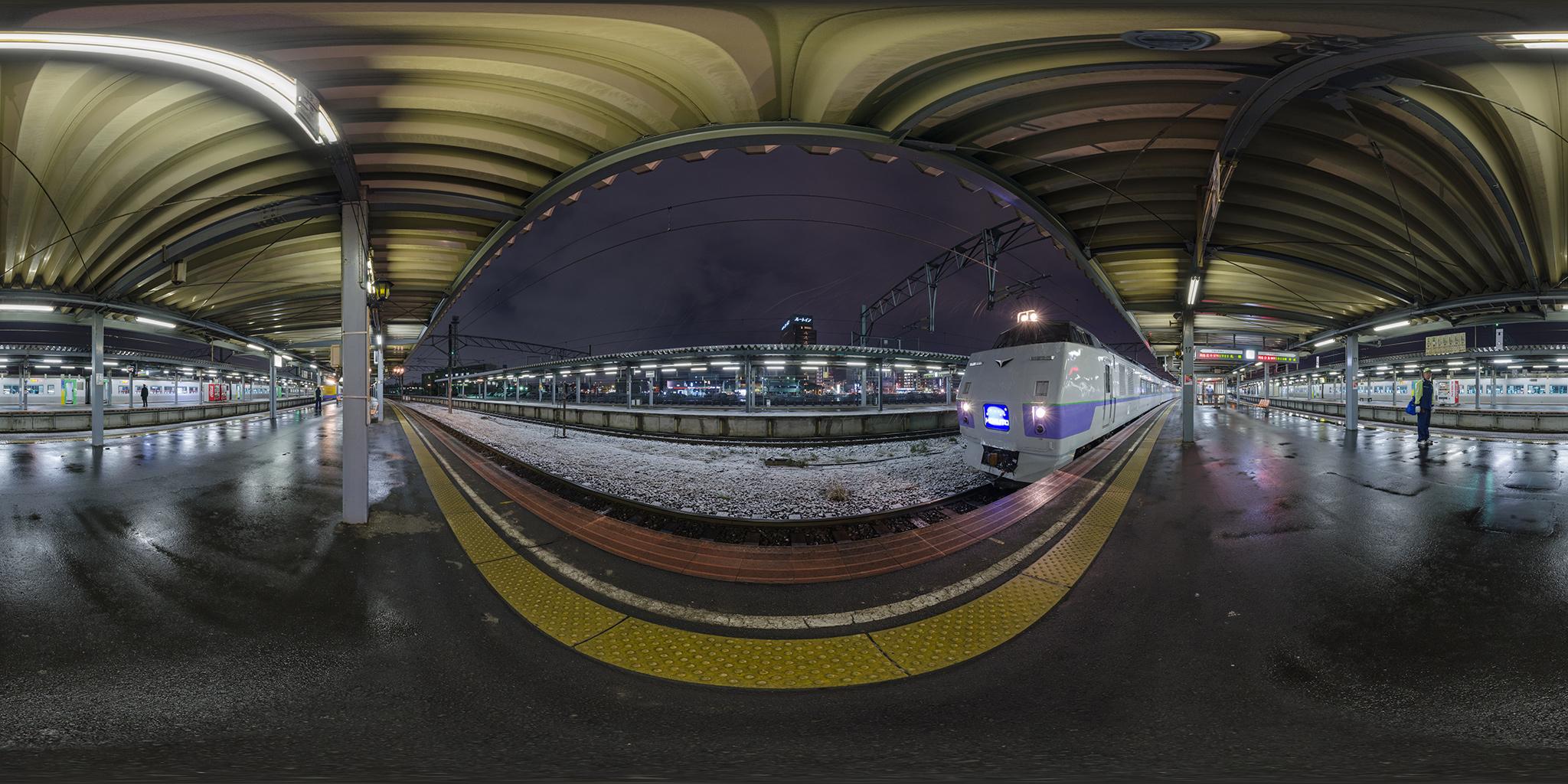 函館駅にて北斗97号と白鳥23号