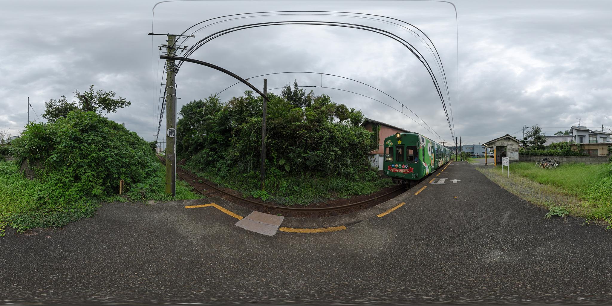 打越駅にて5101A