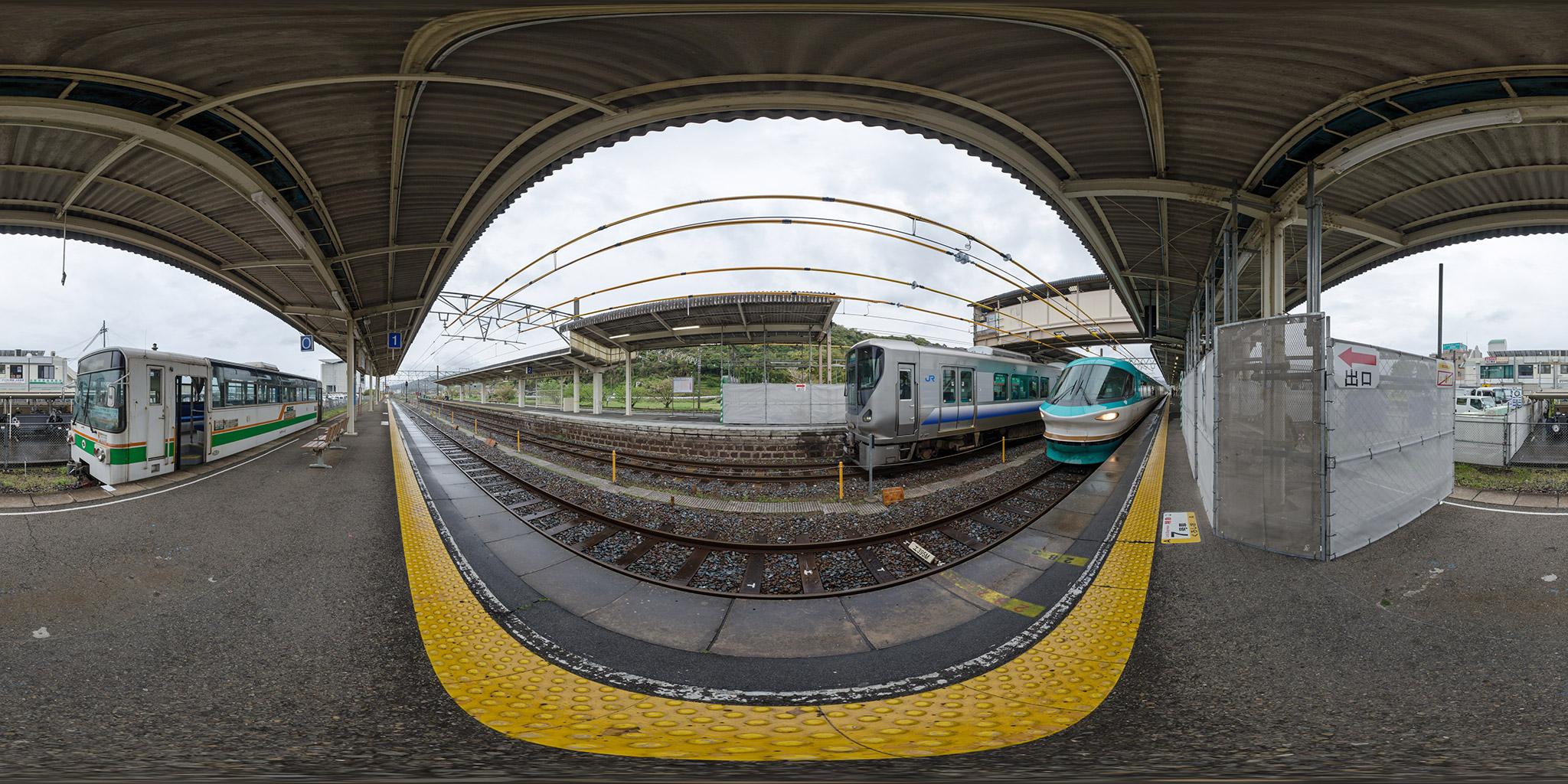 283系「くろしお」と紀州鉄道キテツ2