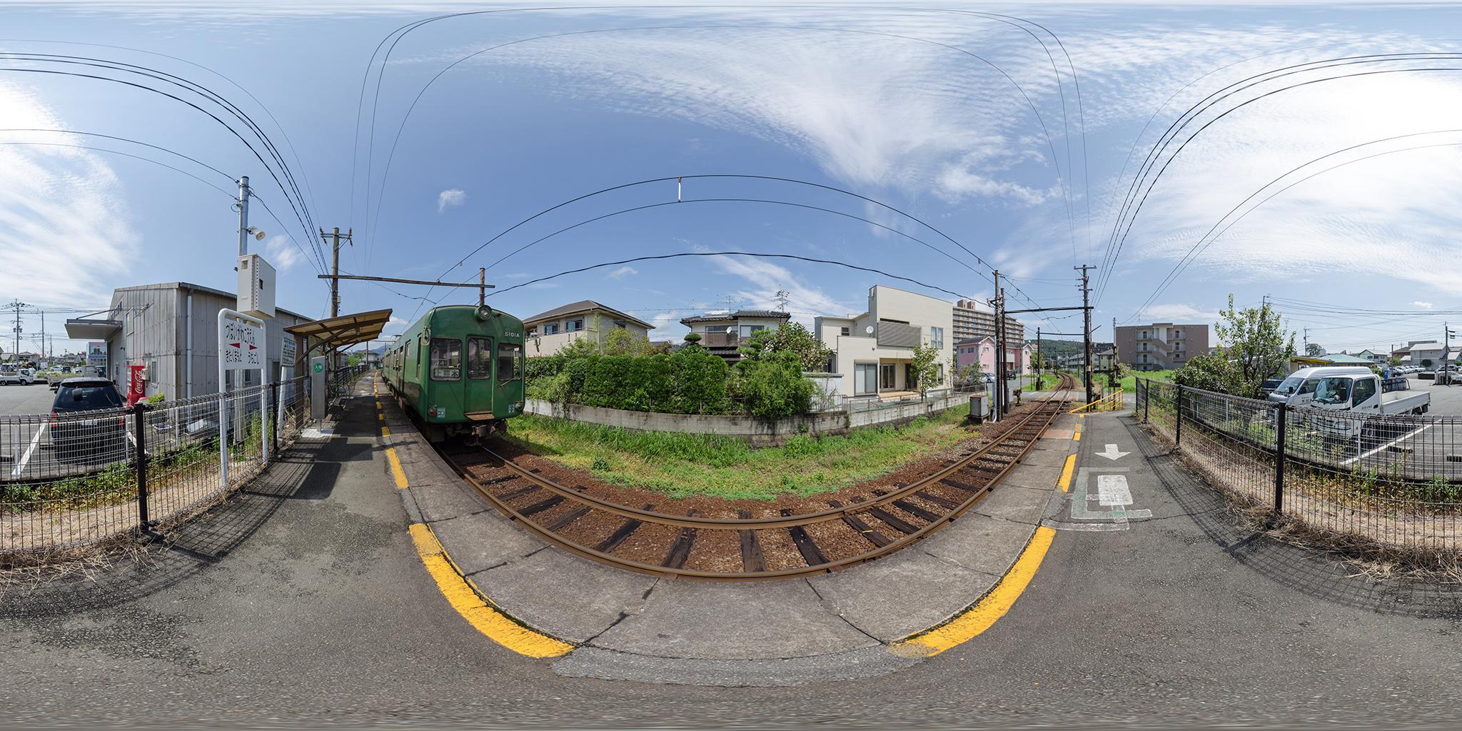坪井川公園駅にて5101A