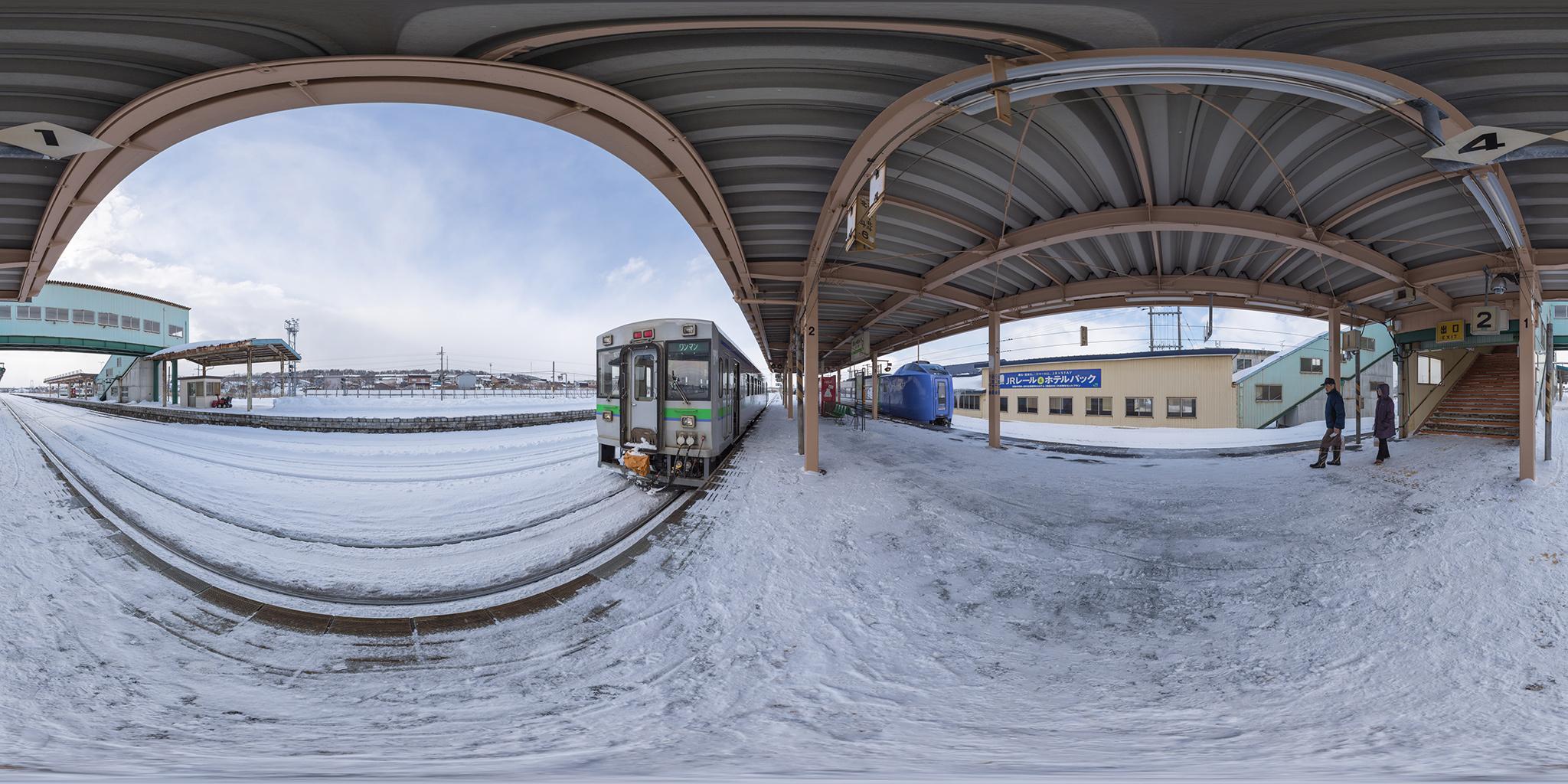 特急スーパー北斗と函館山線の普通列車