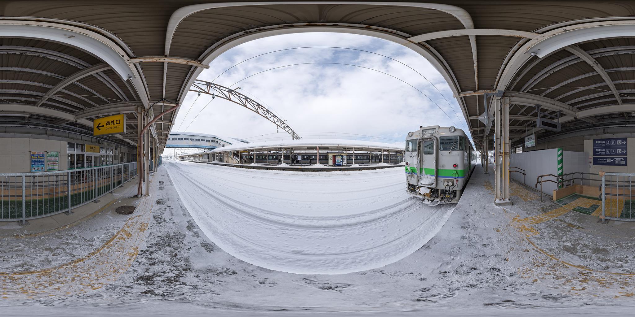 滝川発釧路行きの普通列車2429D