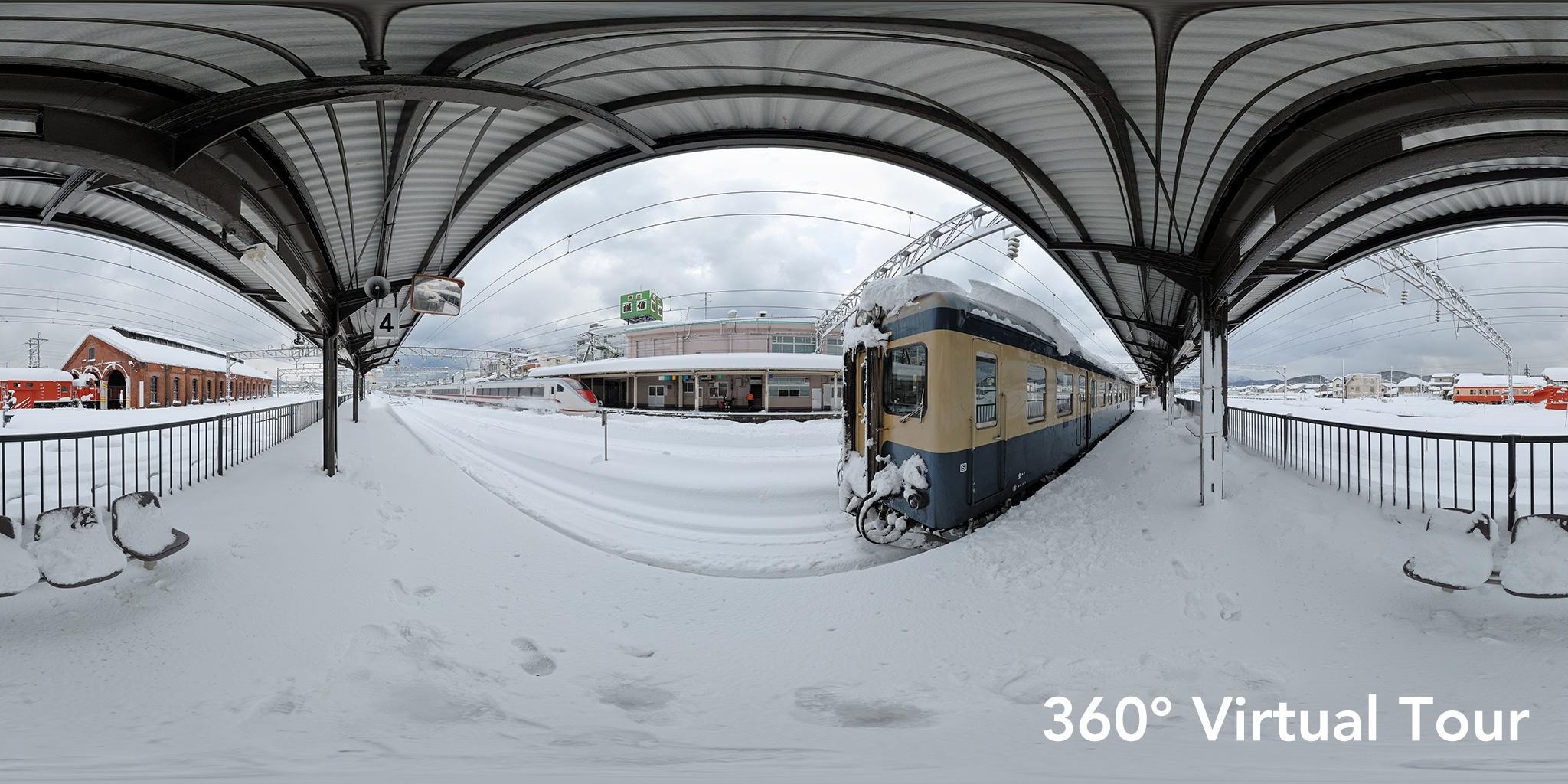 糸魚川駅(2007→2015)360度バーチャルツアー